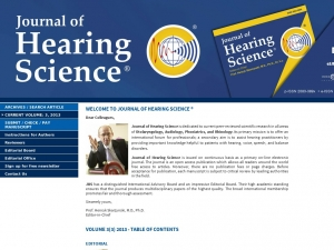 www.journalofhearingscience.com
